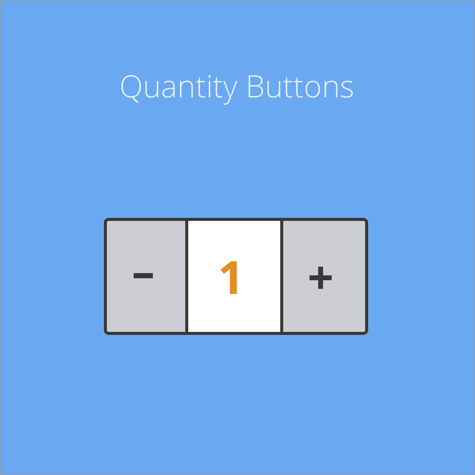 Quantity Buttons for Magento 2
