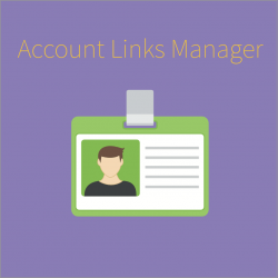 Account Links Manager for Magento 2